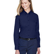 Ladies' Operate Long-Sleeve Twill Shirt