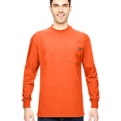 Men's Tall 6.75 oz. Heavyweight Work Long-Sleeve T-Shirt